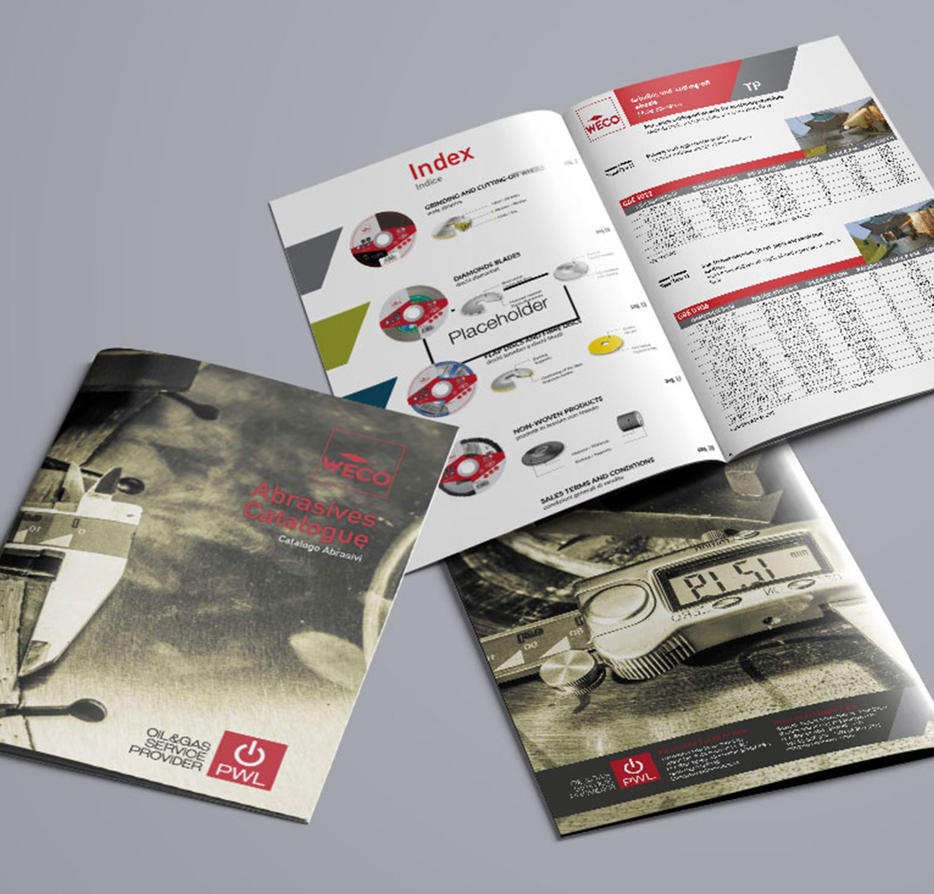 PWL Grinding Catalogue